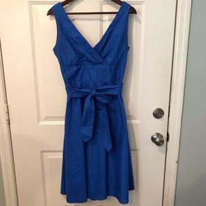 Blue Sundress with Bow